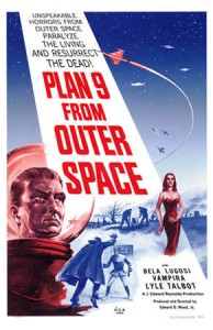 "Affiche du film ""Plan 9 From Outer Space"""
