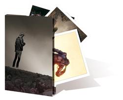 Portfolio collector Walking Dead