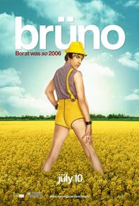 Brüno - Affiche du film