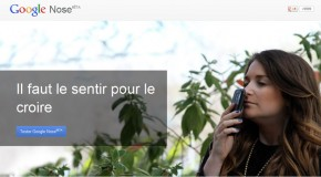 Google Nose, le poisson d'avril par Google