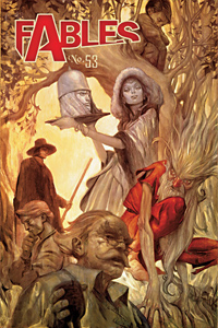 """Fables"" le comics de Bill Willingham"