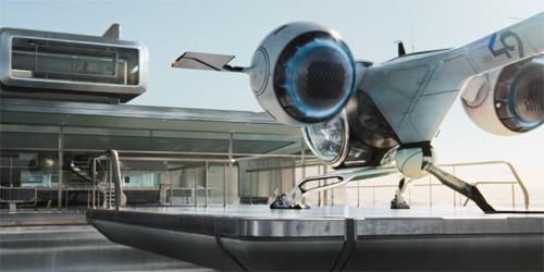 Oblivion design futuriste