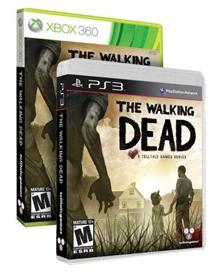 Jaquette du jeu Walking Dead sur Xbox 360 et PS3