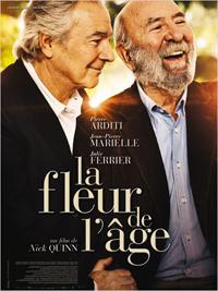 """Affiche du film """"la fleur de l'âge"""""""
