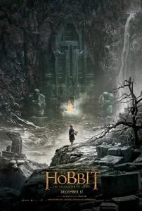 """Affiche du film """"Le Hobbit : la désolation de Smaug"""""""