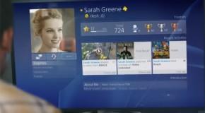 Sony dévoile l'interface de la Playstation 4