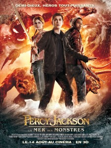 Percy Jackson 2 affiche