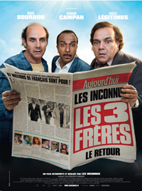 Affiche du film les trois frères le retour