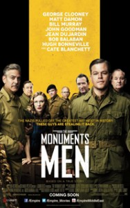 Monuments Men affiche du film