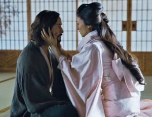 Le ronin Kai et la princesse Mika dans 47 Ronin