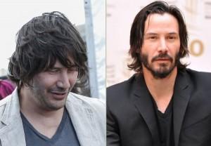 Keanu Reeves en 2013 et maintenant