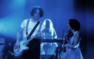 jack white et lillie mae risch concert