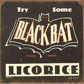 sachet réglisse Black Bat Licorice