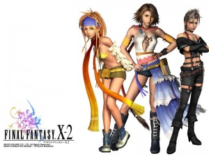 héroines du jeu final fantasy X 2