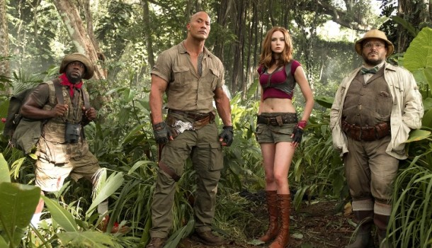 CRITIQUE DVD: JUMANJI: BIENVENUE DANS LA JUNGLE
