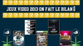 Dossier : Bilan vidéoludique 2013